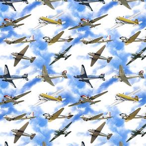 Douglas DC3 Vintage Planes