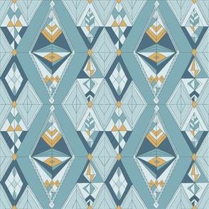 Bohemian gems blue