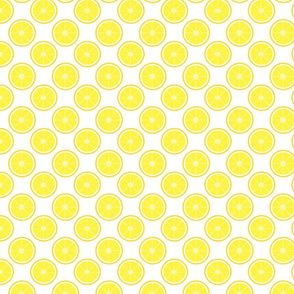 Yellow Lemon Pattern