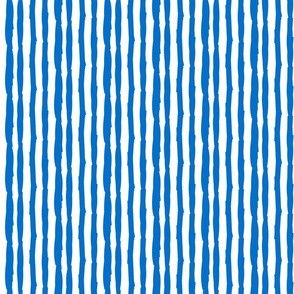 Little Paper Straws in Brilliant Blue Vertical