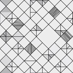 square grid in grey