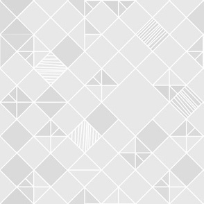 square grid in light grey