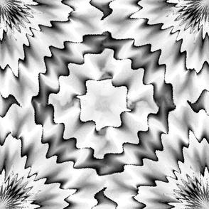 big tile coaster  blackand gray