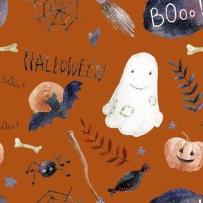 "8"" Halloween Night // Fiery Orange"