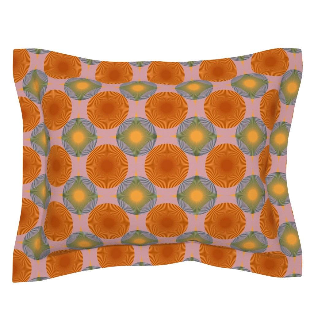 Sebright Pillow Sham featuring Mellow Morning//Large by esobeecraft