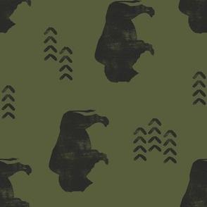 distress buffalo - GN (90) C18BS