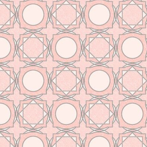 trellis tile 02 peachy