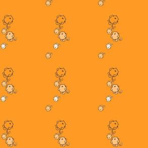 simple orange