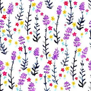 Gouache Lavender