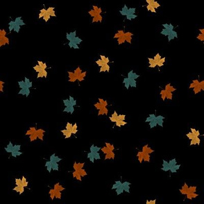 Small Falling Leaves