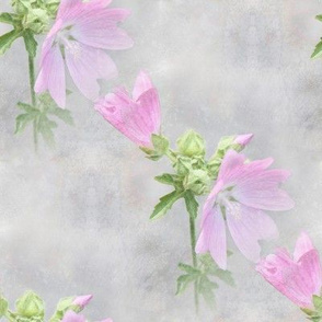 Pink Mallow - large