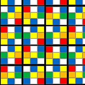 Rubik's Cubism-ed
