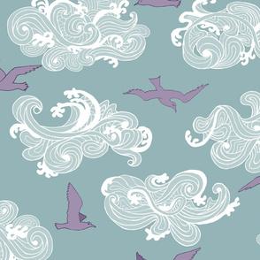 Surf's Up Seagulls