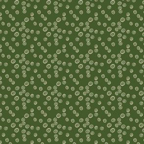 Jungle Luxe Swirls on Green