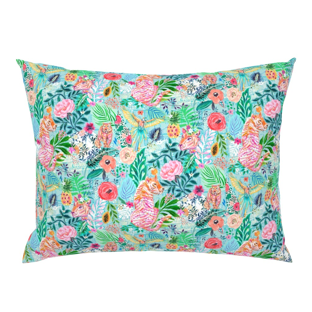 Campine Pillow Sham featuring Wildwood by jeanetta_gonzales