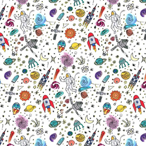 space girl_ coloured repeat onwhite-01