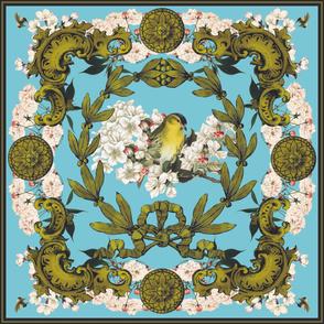 Baroque Bird Scarf