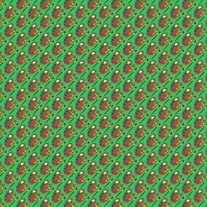 Paint Palette Green
