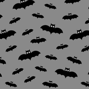 tiny bats grey 60% smaller » halloween