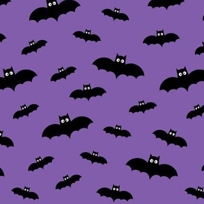 tiny bats purple 60% smaller » halloween