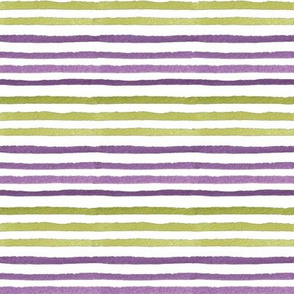 Lime & Violet stripes