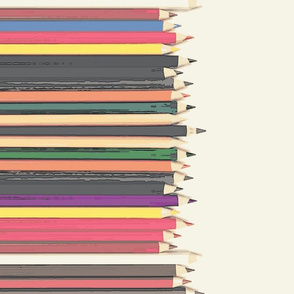 bigger colored poster pencil