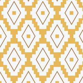 Boho Aztec   Yellow