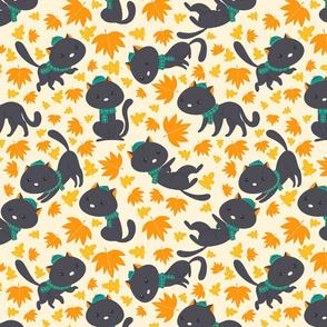 cat fall-pattern