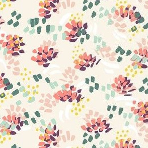 ditsy abstract floral