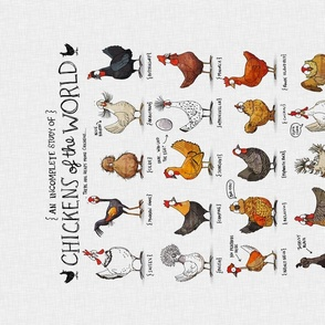 Chickens of the World