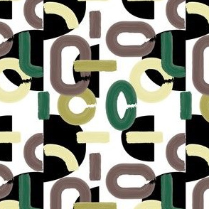 Abstract Mondrien Garden