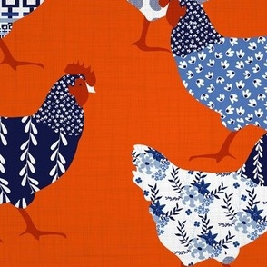Chick Chick Chinoiserie