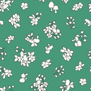 Forest floor green