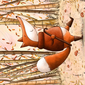 Mr Fox in the Fall