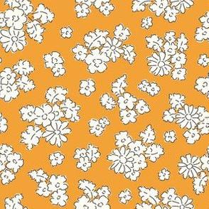 Forest flowers orange