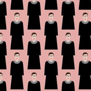 Ruth Bader Ginsburg RBG - Pink
