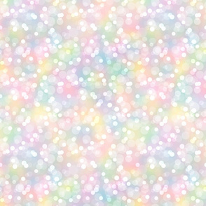 Pastel Candy Color Small Bokehs