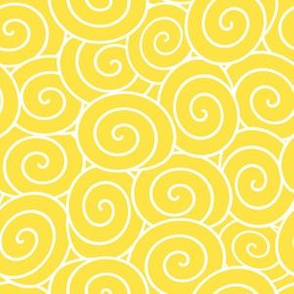 sweet rolls yellow