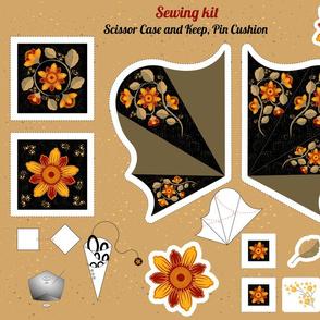 Sewing kit. Cut & Sew