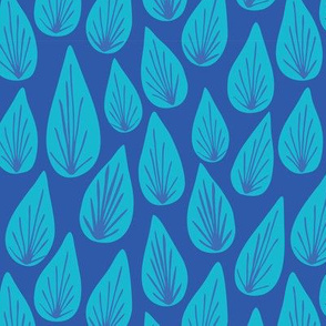 Water Drops_Blue
