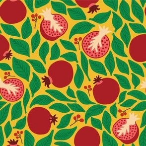 Festive Pomegranates_curry