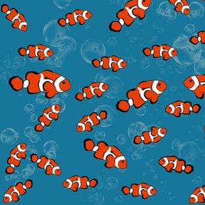 Clown Fish in the Sea