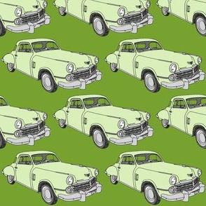Green 1948 Studebaker Commander 2 door