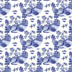 blue willow elements ii 8x8