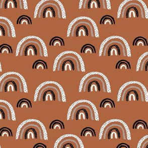 I wanna be a rainbow high in the sky cool abstract trend print copper SMALL
