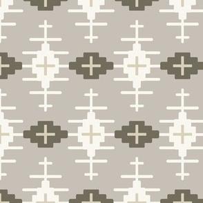 Aztec Path - Clay, H White, Mushroom