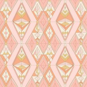 Bohemian gems pink