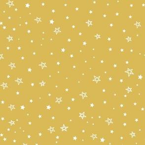 Stars -in gold