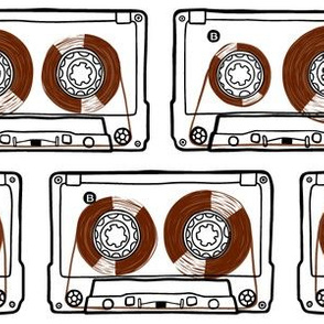 Doodle Tapes - Brown