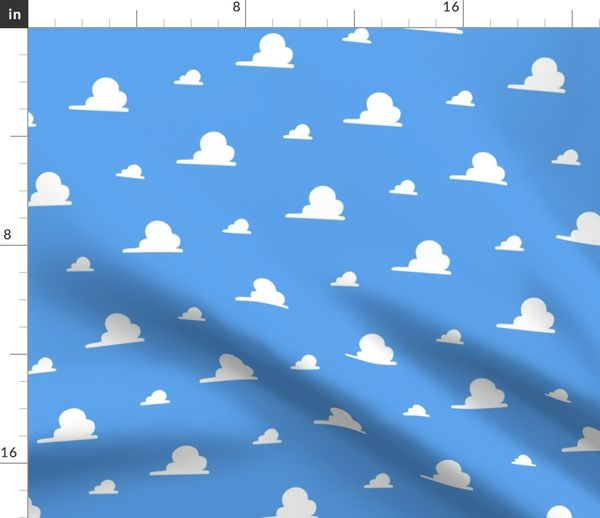 Clouds Story Toy Spoonflower